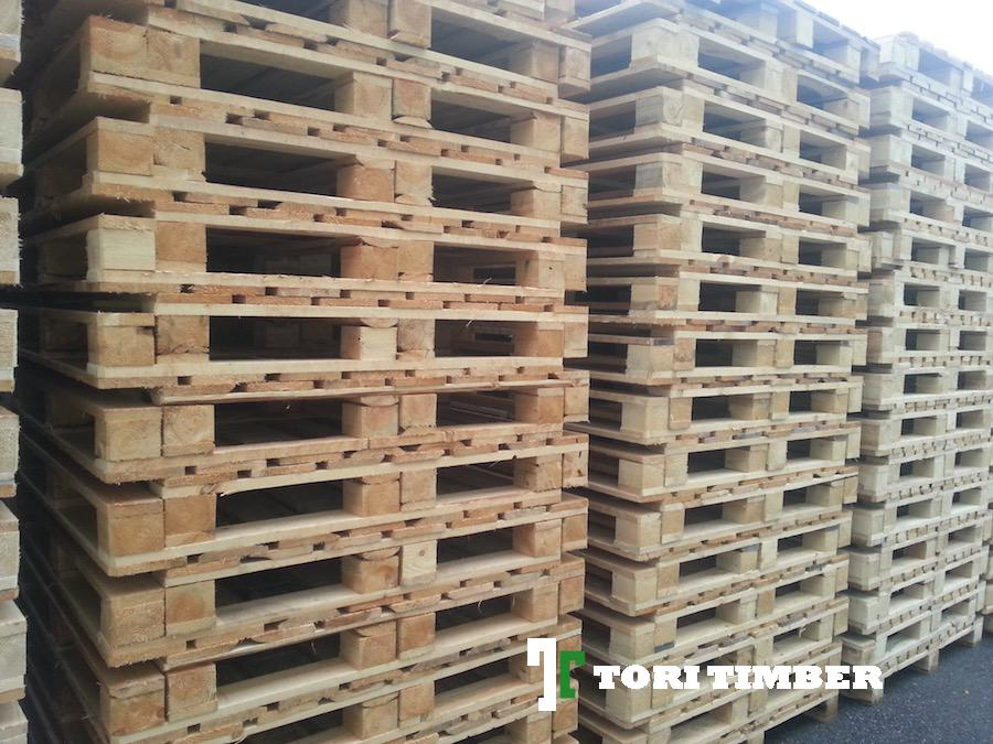 Wooden pallets and pallet collars - Heat treatment is possible